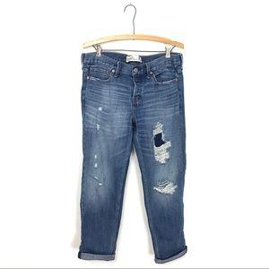 Abercrombie & Fitch Distressed Boyfriend Jeans C2